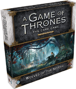 A Game of Thrones : The Card Game (Second Edition) – Wolves of the North